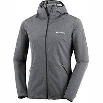 Jas Columbia Women Heather Canyon Softshell Black